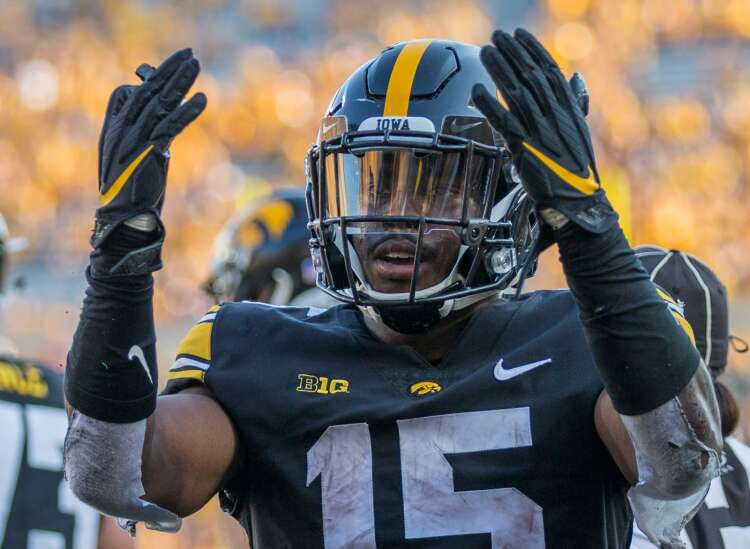 Tyler Goodson's career day needed to propel Iowa offense through critiques