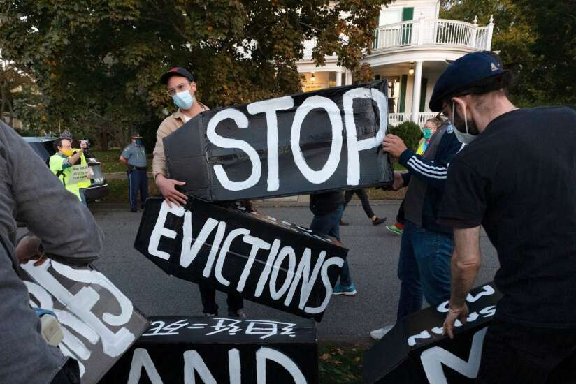 More tenants seeking help from Iowa Legal Aid as pandemic eviction ban ends