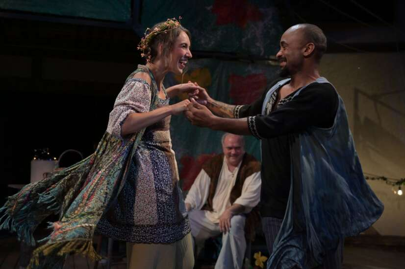 Review: Riverside Theatre's 'Winter's Tale' brings tragedy, comedy to Iowa City park