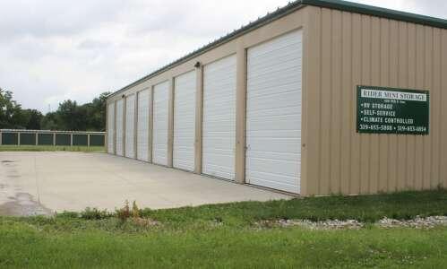 Rider Mini Storage: new location on North F Ave.