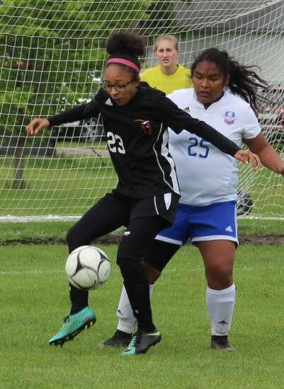 Washington soccer seniors feted