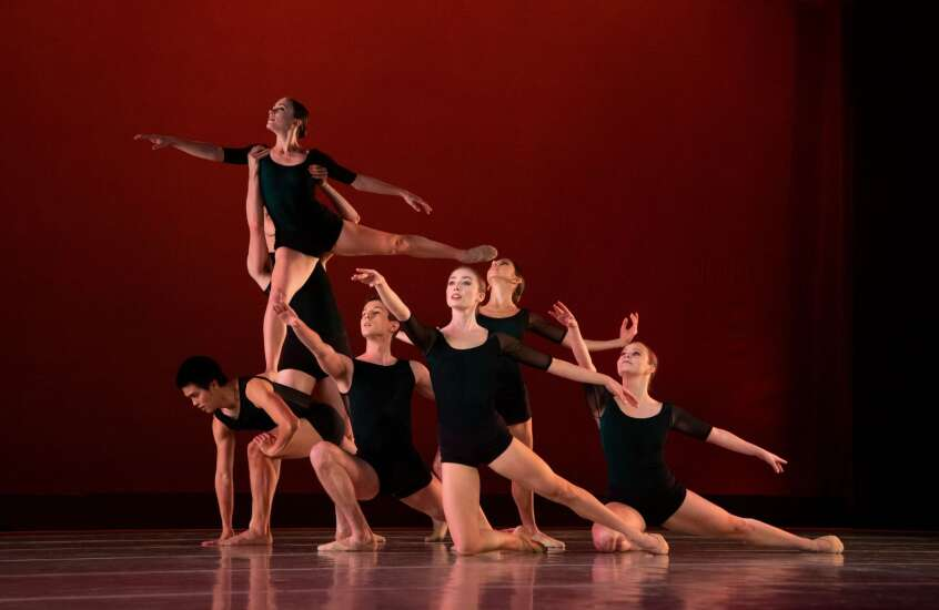 Hancher, Ballet Des Moines team up to dance across Eastern Iowa