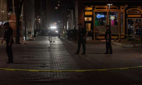 Police charge man in Iowa City Ped Mall shooting