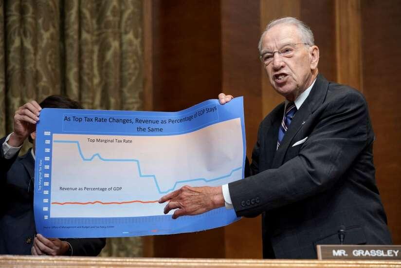 Grassley concerned over leak of IRS data to media outlet
