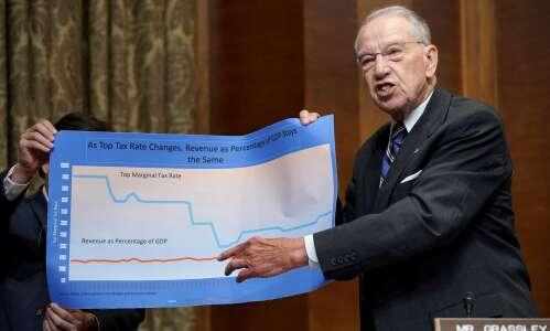 Grassley concerned over leak of IRS data