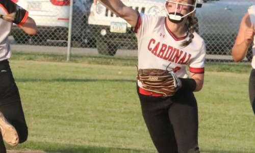 Cardinal softball moving on