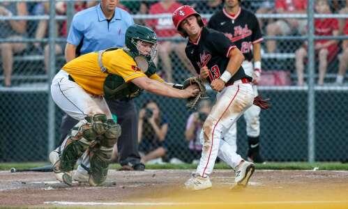Photos: City High baseball faces Iowa City West