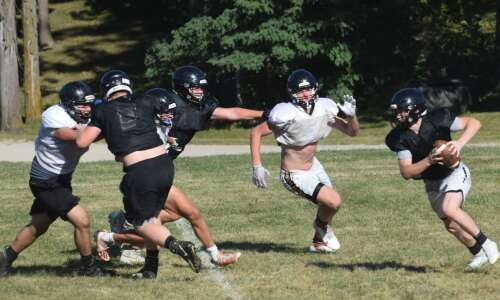 Trojans have fun with new way of practicing
