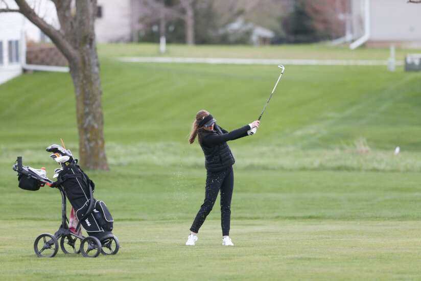 Iowa high school girls' golf regional results: Linn-Mar advances to state in 4A