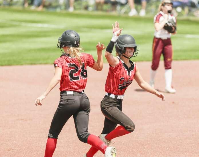 Photos: Lisbon vs. Clarksville, Class 1A Iowa high school state softball quarterfinals