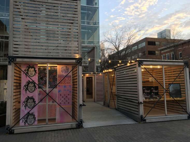 Iowa City project opens new windows for art exhibitions