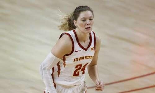 Iowa State women's basketball overcomes slow start, handles Kansas