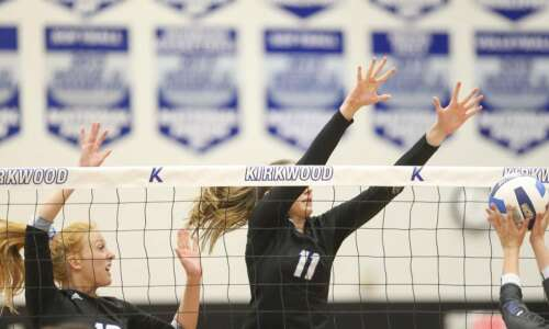 Kirkwood sweeps way into national volleyball quarterfinals