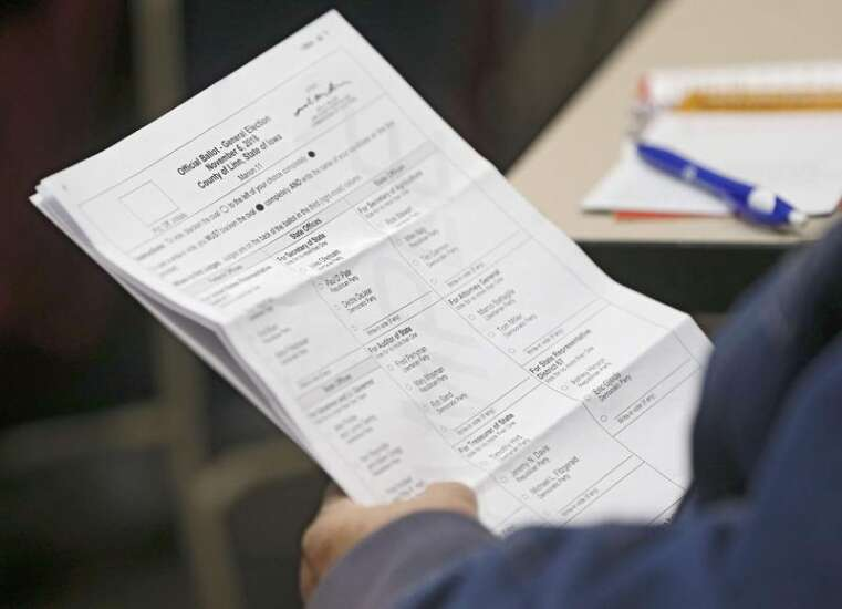 Iowa's shield against election cyberattacks: paper ballots