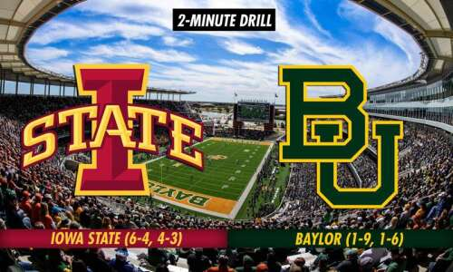 2-Minute Drill: Iowa State Cyclones at Baylor Bears