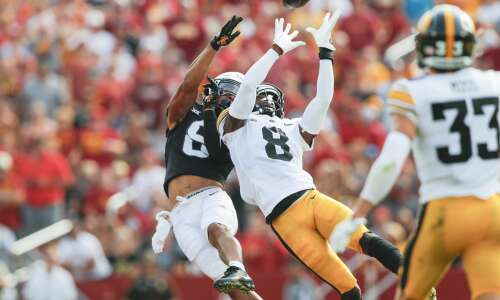 Iowa turns over score and rankings in win over ISU