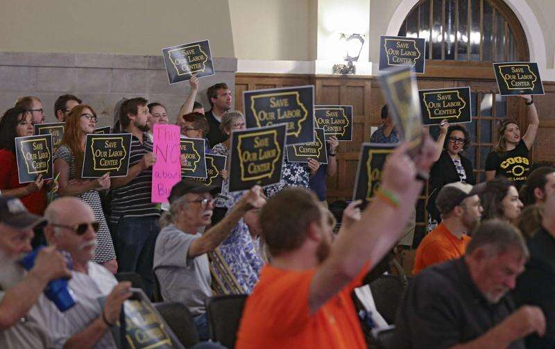 Regents undeterred by outcry over UI Labor Center closure