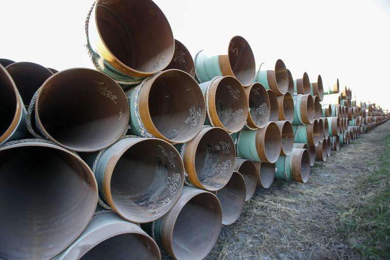 Dakota Access pipeline work nearly finished in Iowa
