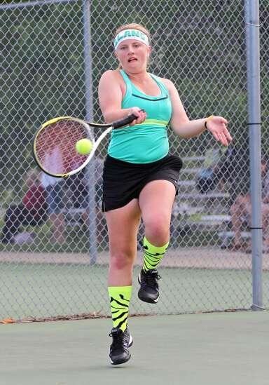 Strong tennis from Trojans and Women of Troy
