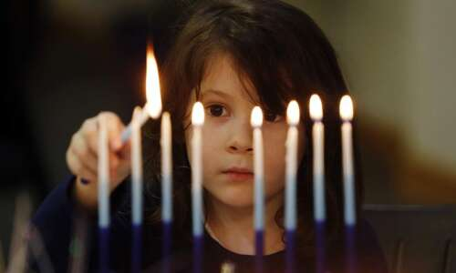 8 days and 8 nights: The story of Hanukkah (which…