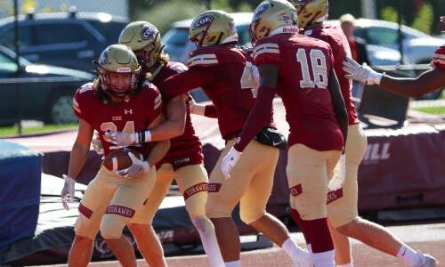 Coe rolls to victory over Luther