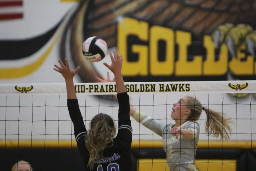 No. 8 West Liberty sweeps past Mid-Prairie