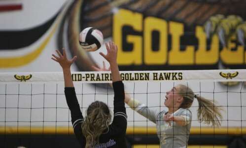 Iowa high school volleyball: 2021 Gazette area all-conference teams