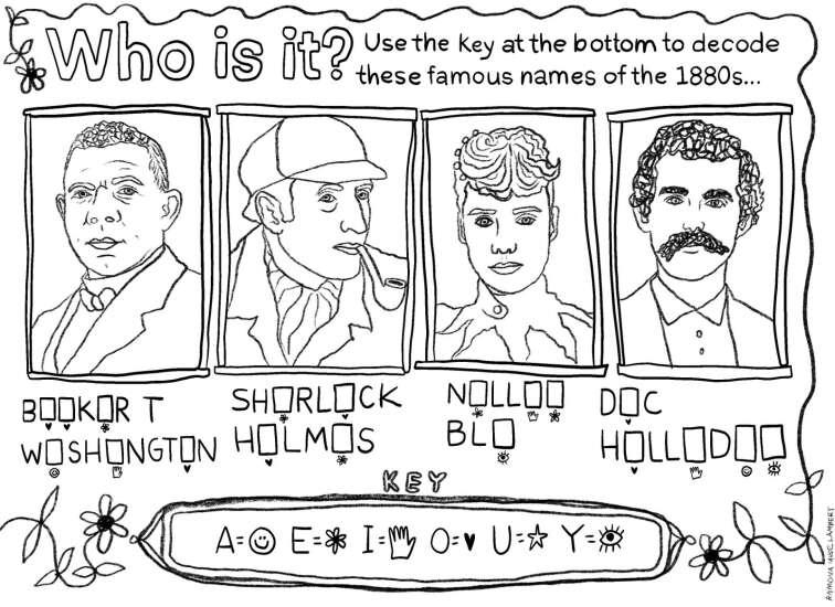 Meet the celebrities of the 1880s
