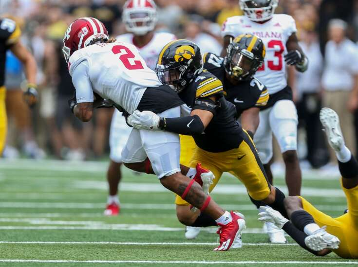 Iowa defense not all about spark, but the spark was something special