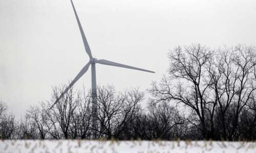 Iowa wind turbines equipped to handle extreme cold. Ice is…