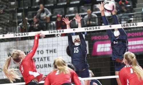 Photos: Cedar Rapids Xavier vs. Dallas Center-Grimes, Iowa Class 4A…