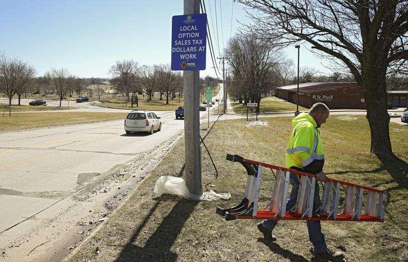 Cedar Rapids hopes voters will extend 1-cent sales tax that funds 'Paving for Progress' street repair program