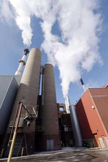 Gov. Kim Reynolds' visit to regents coincides with major utilities deal