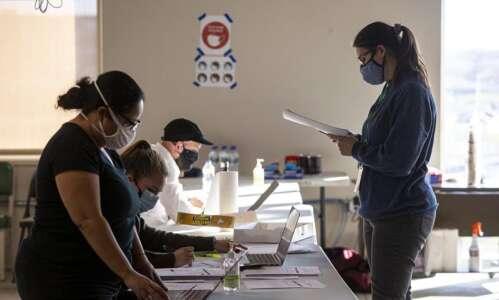 Mariannette Miller-Meeks' lead increases a bit in Scott County recount