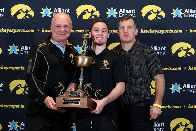 Iowa's Spencer Lee wins second straight Hodge Trophy