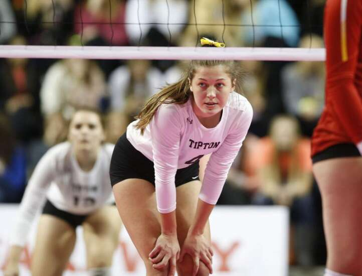 Iowa all-state volleyball 2018: Tipton's Sommer Daniel is tops in 3A