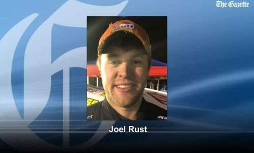 Newlywed Joel Rust makes time for racing