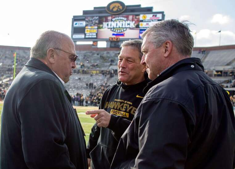 Iowa football talks about getting to the field and staying there
