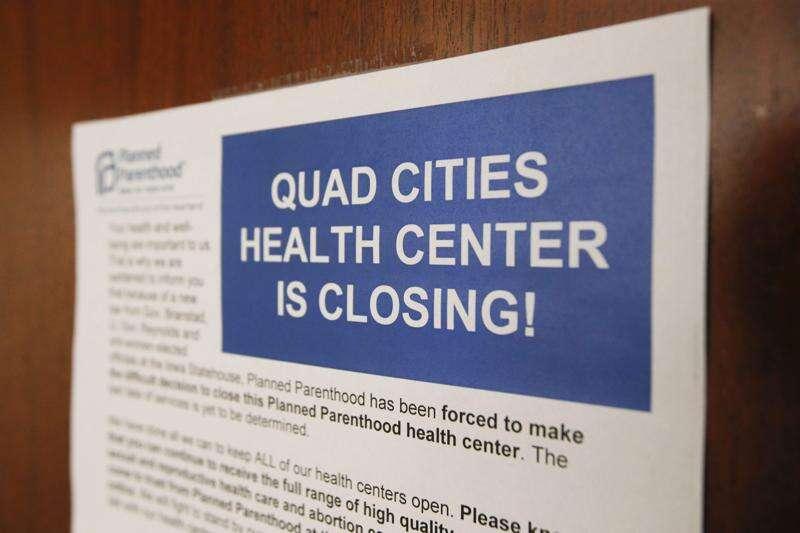 In Iowa: Family planning services thin under Iowa GOP program