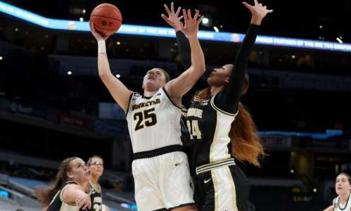 Monika Czinano hits a career-high 38; Iowa subdues Purdue in…
