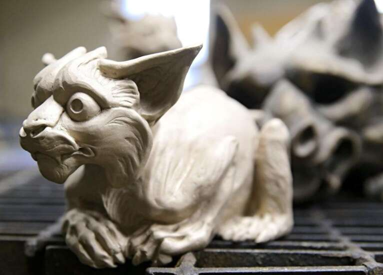 Larger than life: Sculptors build a business in Kalona