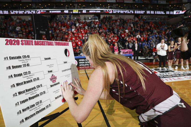 Iowa girls' state basketball: Friday's scores, stats, highlights and more