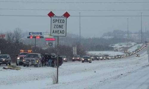 Crash slows morning commute on Interstate 380