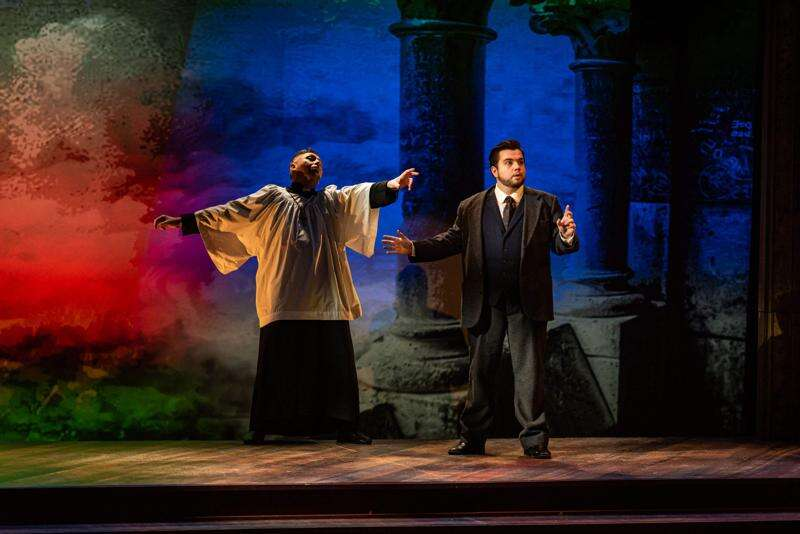 Review: Theatre Cedar Rapids stages killer musical comedy in 'A Gentleman's Guide to Love and Murder'