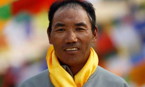 Kami Rita Sherpa summits Mount Everest for record 22nd time