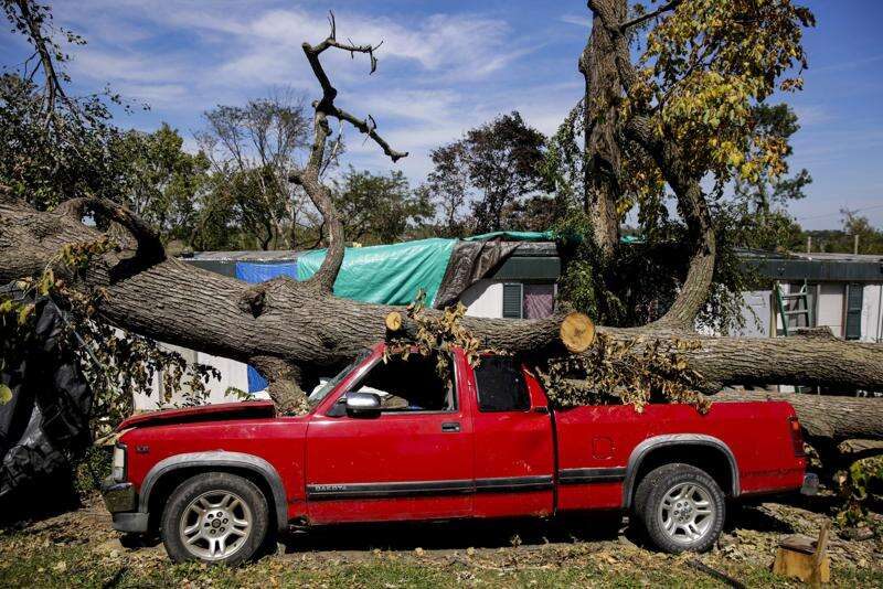 Cedar Rapids mobile home residents feel 'abandoned' after derecho storm
