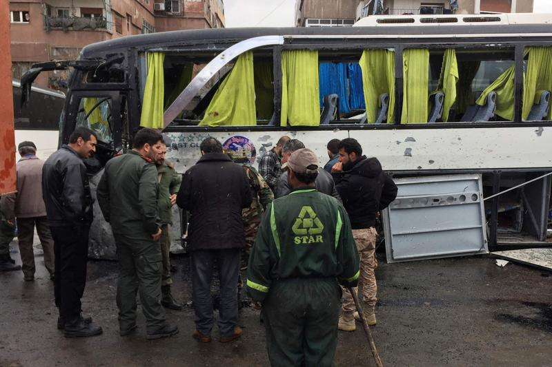 Death toll from Damascus bombing climbs to 74: Observatory