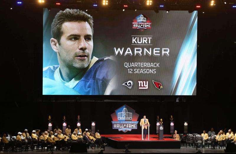 Transcript: Read Kurt Warner's Hall of Fame speech