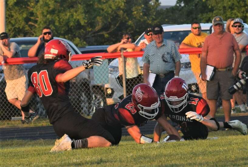 Late scores difference in 'Instant classic' for Cardinal football team