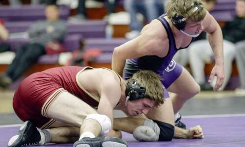 Jake Voss took indirect path to Coe wrestling room